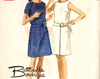 Butterick 5176 Misses One Piece Dress Sewing Pattern