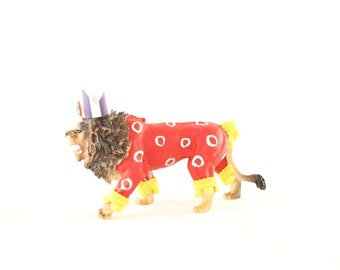 """Party Animal """"Lester"""" The Lion - Cake topper, carnival, circus, and birthday decor"""