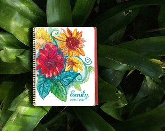 Personalized Gift, Daily Planner / Personalized Agenda / Colorful Planner to keep you Organized.