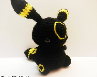 Crochet Umbreon Inspired  Chibi Pokemon
