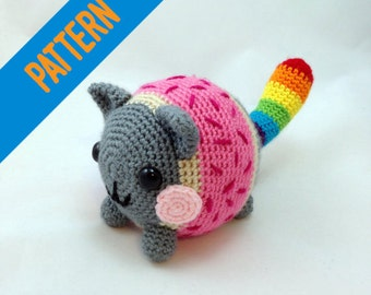 Crochet Pattern - Chubby Nyan Cat