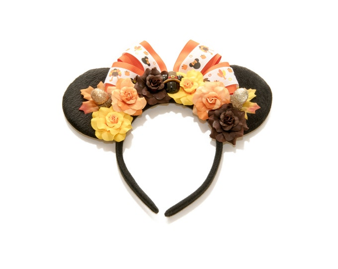 Thanksgiving Mouse Ears Headband