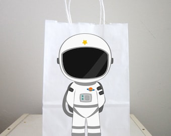 Space Party Goody Bags,  Astronaut Goody Bags, Space Goody Bags, Space Favor Bags, Astronaut Favor Bags (103161253P)