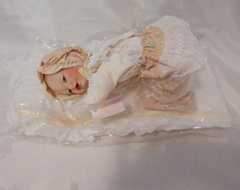 "Yolanda Bello's Porcelain Baby Doll ""Lisa"" - circa 1989"