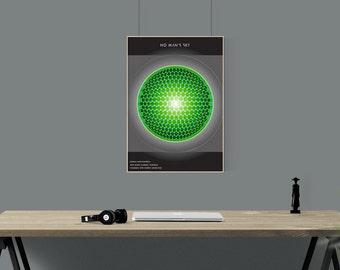 The Encyclopedia  - No Man's Sky Fan Art Poster