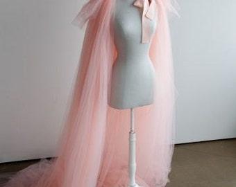 Haute Couture Silk Tulle Opera Coat