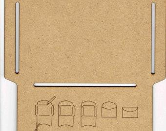 Large Envelope Wooden Template