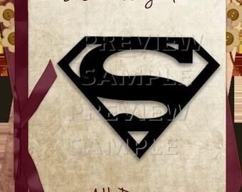Superman SVG Cutting File