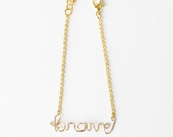 Brave Bracelet (Gold)