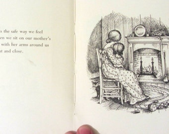 Vintage love poem book, Love is a special way of feeling by Joan Walsh Anglund, C1960 , love poem book, mothers love poems ,pocket poem book