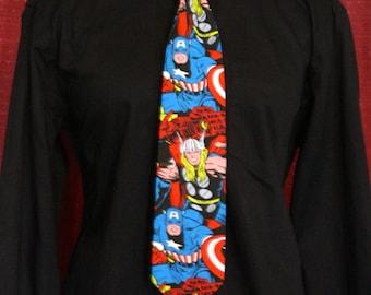Marvel Avengers Standard Length Neck Tie