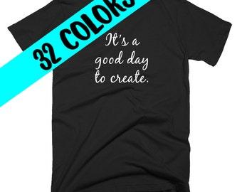 Creative T-Shirt, Artist T-Shirt, Artist Shirt, Artist Top, Writing Quote, Write Quote, Writer, Writing Student, Writer Gift, Writer Shirt