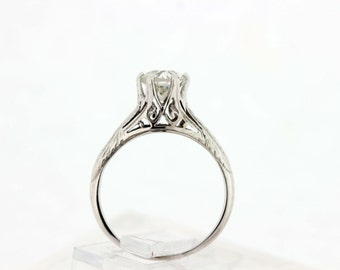 18K Solitaire 1.20ct diamond Ring