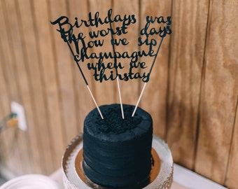 CUSTOM Birthday Cake Topper