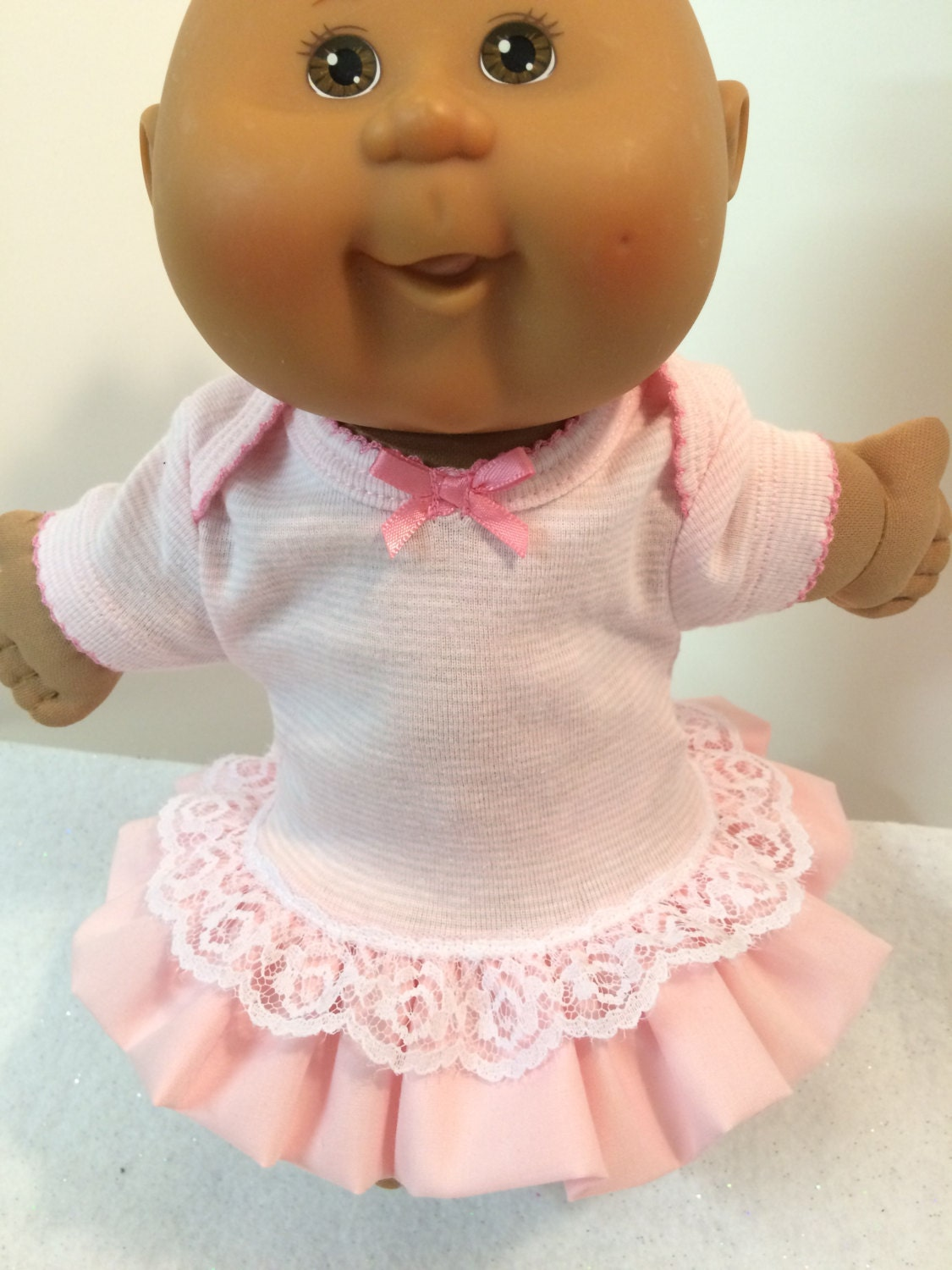 Cabbage Patch PREEMIE Doll Clothes 11 Doll Pink by