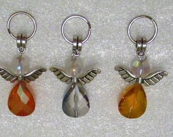 1294 - Angel Zipper Charm