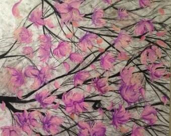 Cherry Blossom original drawing