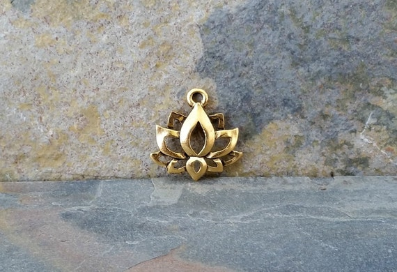 Lotus charm antique gold boho jewelry pendant c111gold lotus lotus charm antique gold boho jewelry pendant c111gold lotus charmlotus charmlotus flower charmgolden lotusboho lotus charmyoga charms from vodabeads mozeypictures Image collections
