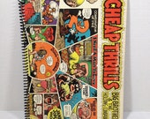 Big Brother & Holding Company Handmade Vintage Record Cover Notebook Album Jacket Journal Ephemera  Cheap Thrills || Unique Gift