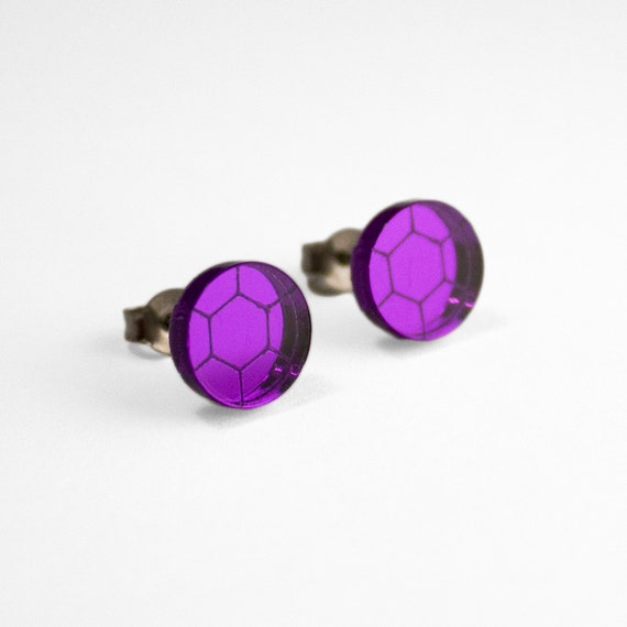 steven universe earrings steven universe amethyst stud earrings 9223