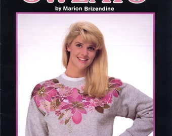 Silk Flower Sweats by Marion Brizendine (altered clothing) | Craft Book