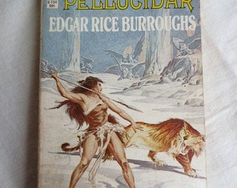 Pellucidar by Edgar Rice Burroughs - Ace Paperback Book - Vintage Science Fiction