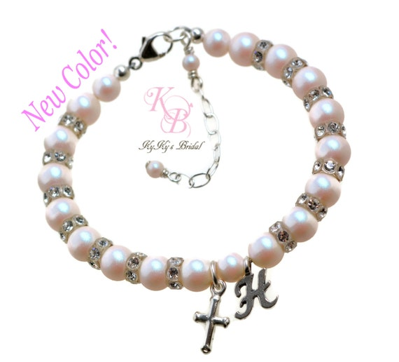 Baby Gifts Jewellers : Baby bracelet personalized baptism gift christening gifts
