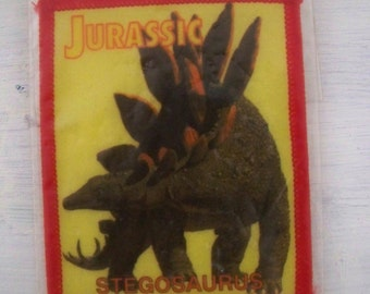 Jurassic Stegosaurus Sew-on Patch