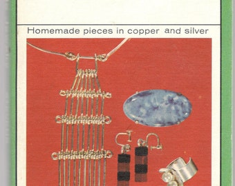 Simple Jewelry, Vintage Hardcover by R. W. Stevens, Watson-Guptill 1966