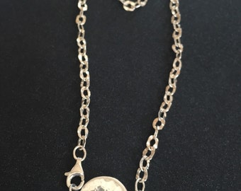 "16"" Sterling Silver Love I.D. Necklace"