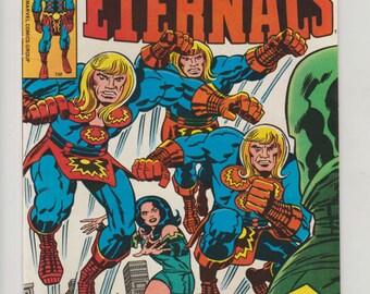 Eternals; Vol 1, 17, Bronze Age Comic Book. NM- (9.2). November 1977.  Marvel Comics