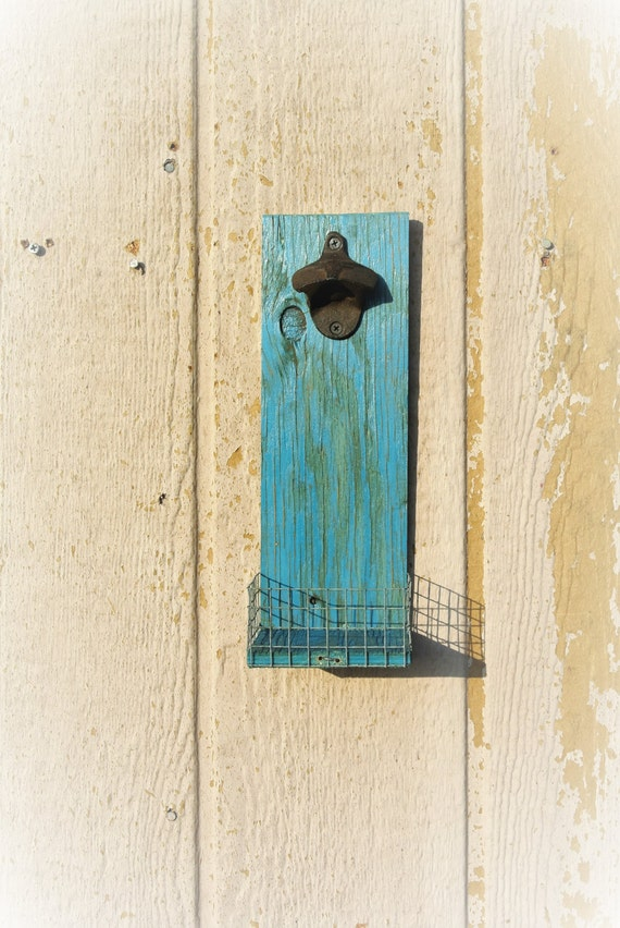 Rustic Bar Wall Decor : Rustic beer bottle opener farmhouse wall decor barware bar