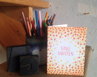 Still Smitten Greeting Card