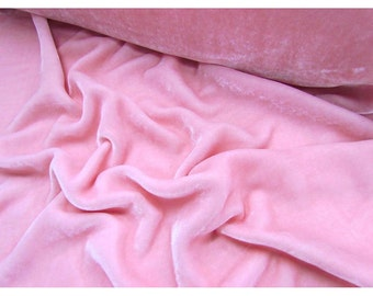 Baby Pink Velvet Fabric Dress Strechable velvet Commercial Fabric Curtain Fabric Fashion Velvet Upholstery Decorative Fabric