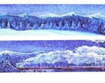 Snow view washi tape