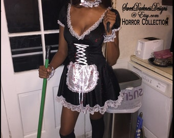 Milk maids for adults Black