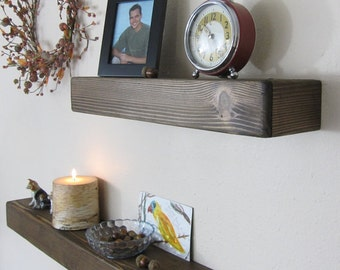 Floating Shelf, Floating Shelves, Wood Shelf, Cedar Shelf, Rustic Shelf, Rustic Shelving, Floating Cedar Shelf, Rustic