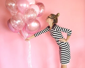 Giant Balloon Bouquet | Confetti Balloons | Pink Balloons | FREE SHIPPING