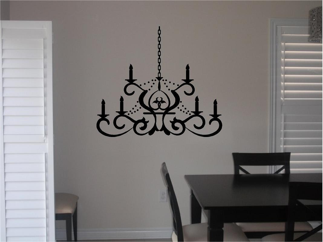 Vinyl Chandelier Wall Decal Dining Room Vinyl Decal Home : ilfullxfull1052056549d4rc from www.etsy.com size 1068 x 800 jpeg 72kB