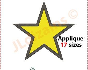 Star Applique Design. Star Embroidery Design. Embroidery design star. Applique design star. Embroidery star. Machine embroidery design