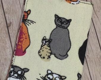 NuNo Passport Cover. Cats Cover. Passport Holder. Vegan Passport Cover. Passport Protector.