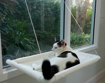 Window Cat Bed, Cat Bed, Cat Cot, Cat Hammock, Pets Bed, Small Pets Hammock, Cat Furniture, Modern Cat Bed, EXPRESS SHIPPING.