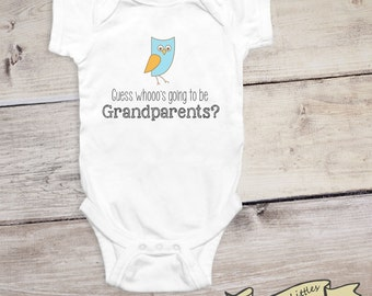 Pregnancy Reveal to Grandparents To Be