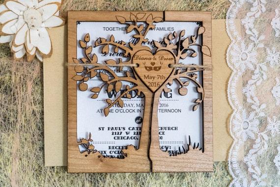 il_570xN.1000077109_22mn tree rustic wedding invitations rustic wedding invite cutom,Unique Rustic Wedding Invitations