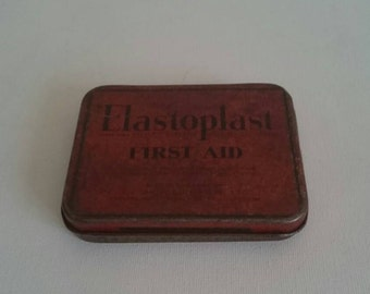 Vintage Elasoplast Tin