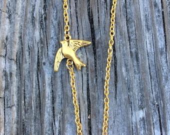 Sparrow Necklace. GC0143