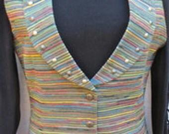 Vintage (never worn) FRONTIER Vest Same front and back