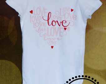 Love Words Heart for Baby and Toddler