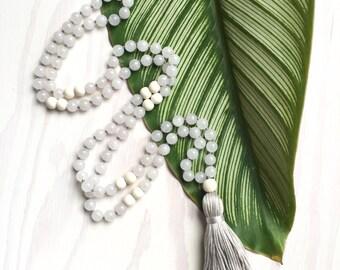 Heal Mala- mala beads, mala necklace, tassel necklace, mala, tassel, mala beads necklace, tassel necklaces, beaded necklace, mala beads 108