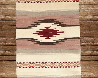 Unique and stylish handwoven wool rug for housewarming your home
